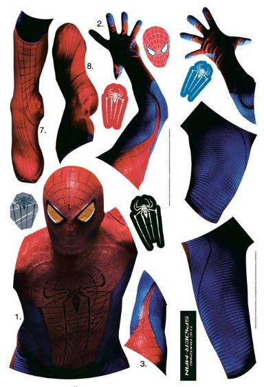 the amazing spider man giant wall mural decal marvel